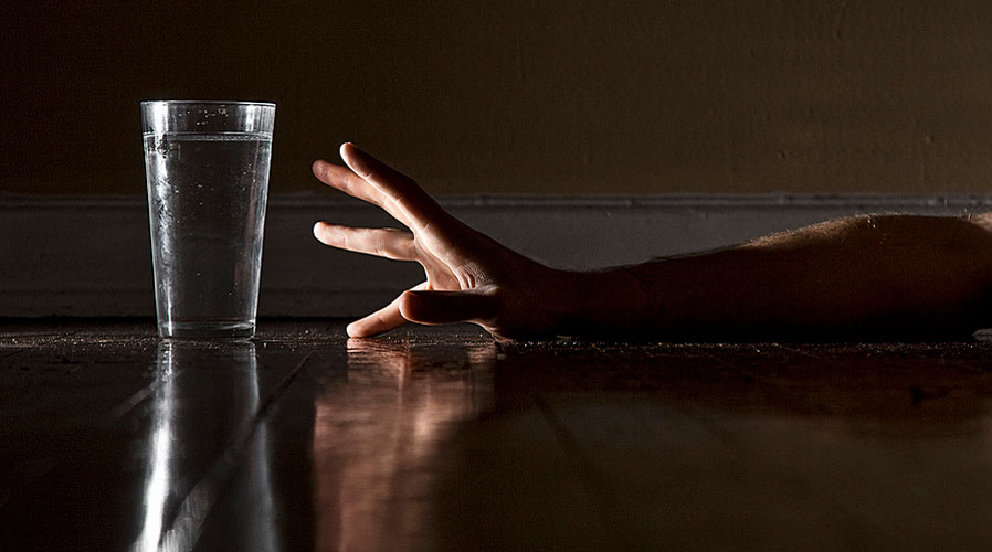 The effects of not drinking enough water