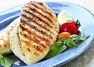 Lean grilled chicken