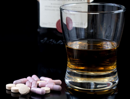 A question about antibiotics and drinking?