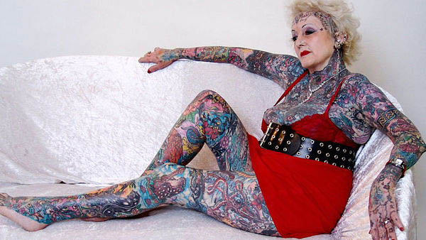 Old People With Different Tattoos With Pictures New Health Advisor