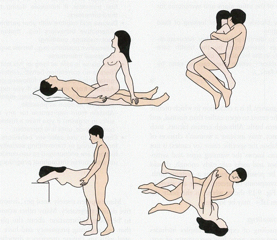 Safe sex positions when your pregnant