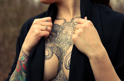 12 Least Painful Places For Tattoos