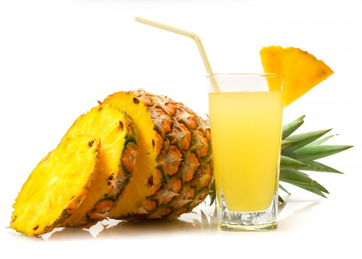 limonáda z ananasu
