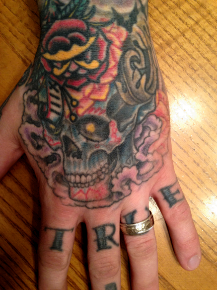 Where are the most painful tattoo spots new health advisor for Do tattoos hurt on your hand