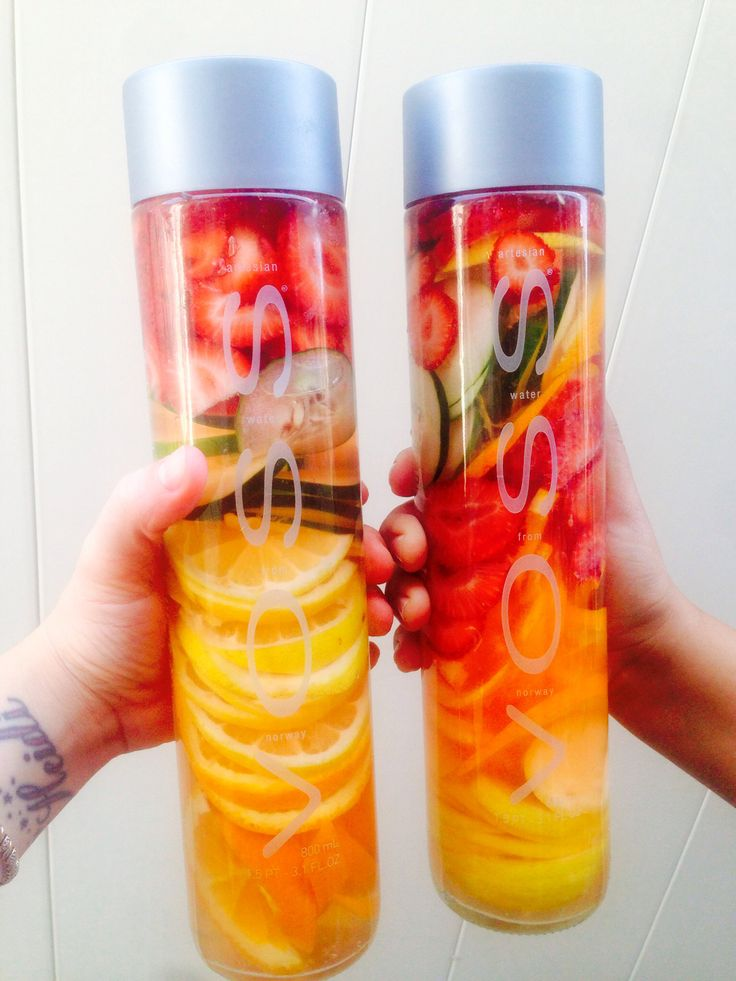 How to Make the Best Out of Voss Water with Fruit