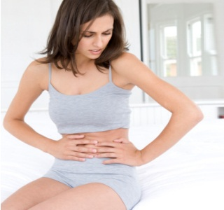 severe stomach pain after sex