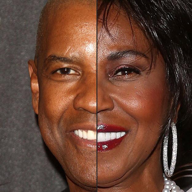 Sexy. similarity facial features couples damn sexy