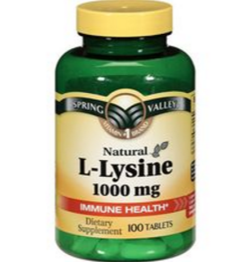Cold Sore Natural Remedy Lysine