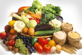 Fruit veg and whole grains