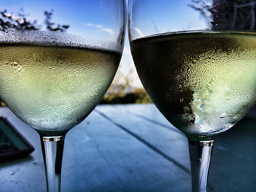 Glasses of White Wine