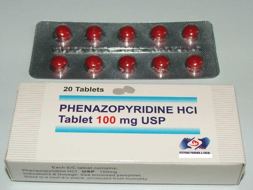 how to take phenazopyridine hcl