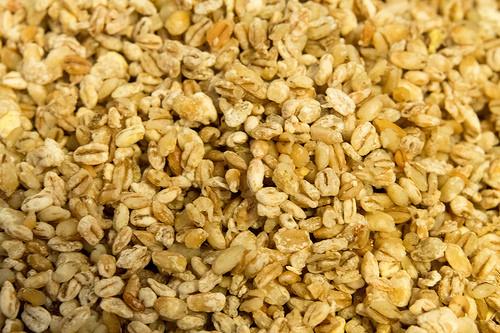 Harvested Barley