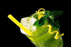 Lemon Basil Drink