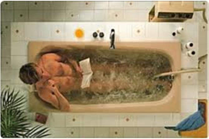 how to take a sitz bath in a bathtub