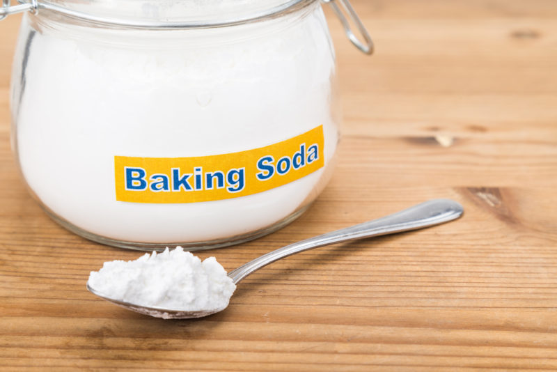 In Addition To Its Other Numerous Benefits Baking Soda Can Help Remove The Stink From Your Shoes Use This Method Sprinkle Some